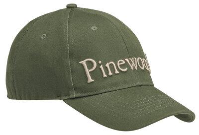 Pinewood Pet Logo Flexfit Groen